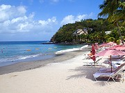 smuggiers cove beach st lucia