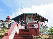 lighthouse vieux fort st lucia